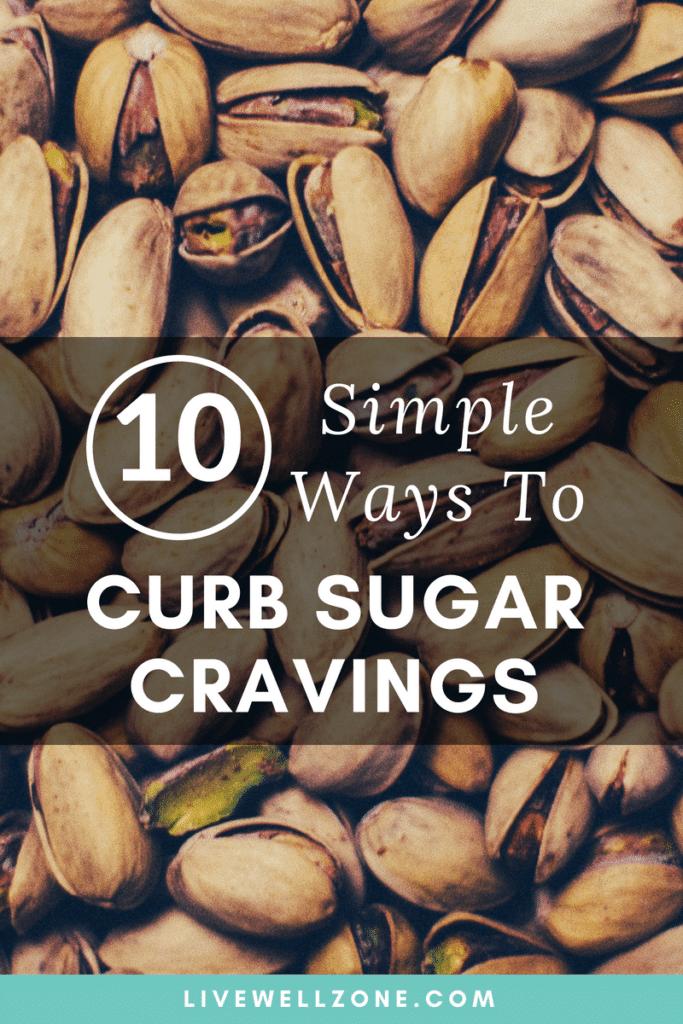 nuts to curb sugar cravings