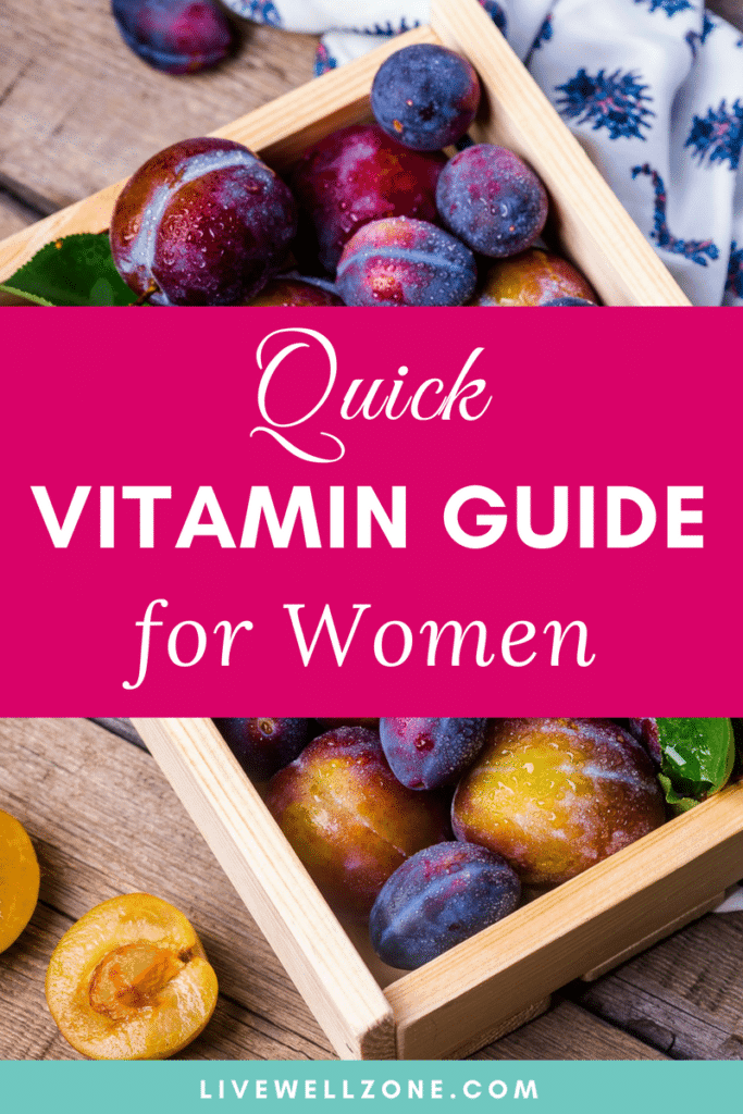 vitamin rich fruits for women's health