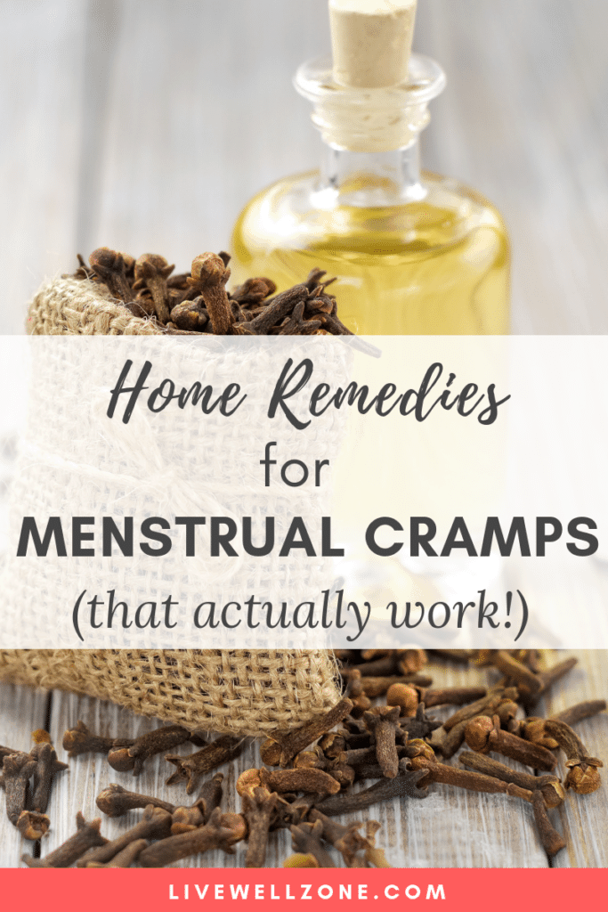 cloves and clove oil are part of home remedies for menstrual cramps