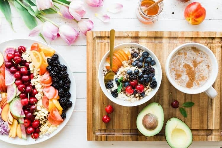 lose weight without dieting fruits honey avocado