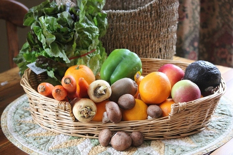 weight loss friendly foods fruits vegetables