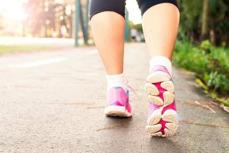 walking for weight gain caused by hormones