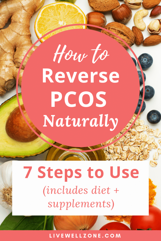 reverse PCOS naturally ginger nuts