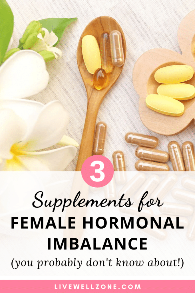 supplements for female hormonal imbalance pills