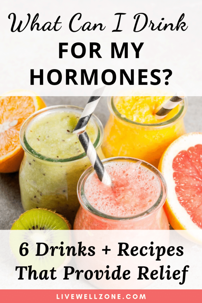 what can I drink for my hormones featured smoothies