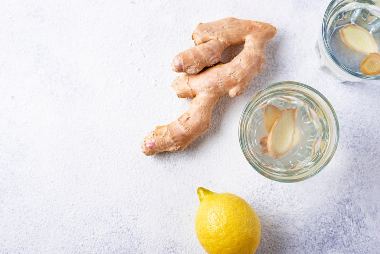 ginger root for heavy periods ginger in water