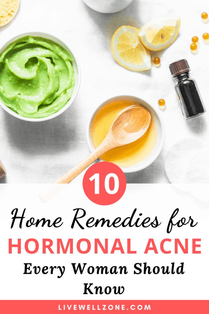 home remedies for hormonal acne avocado honey