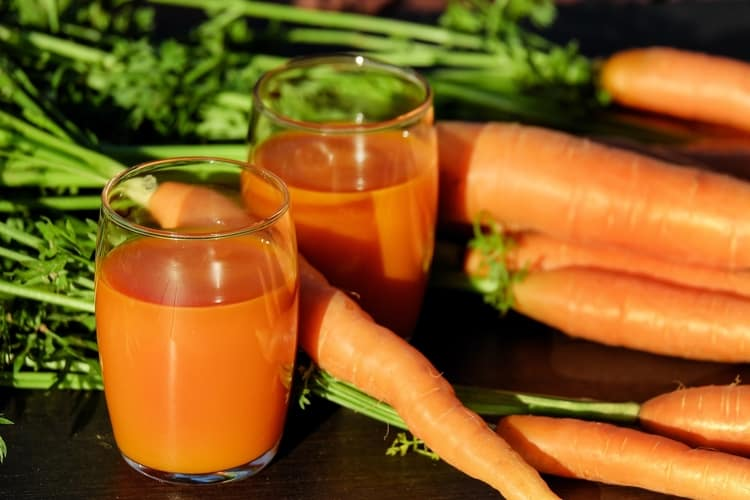 home remedies for hormonal acne carrot juice