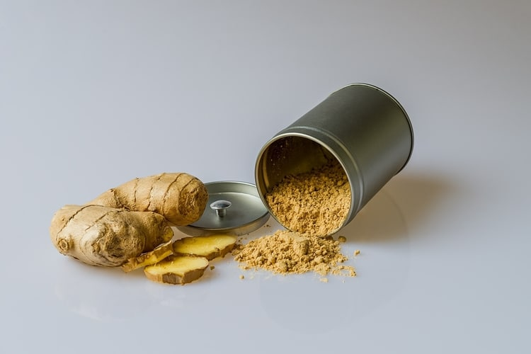 how to use ginger for pcos root and powder