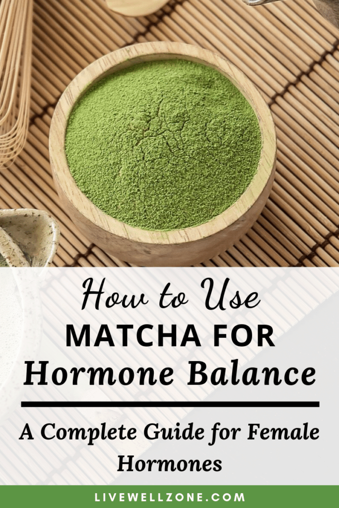 matcha for hormone balance powder