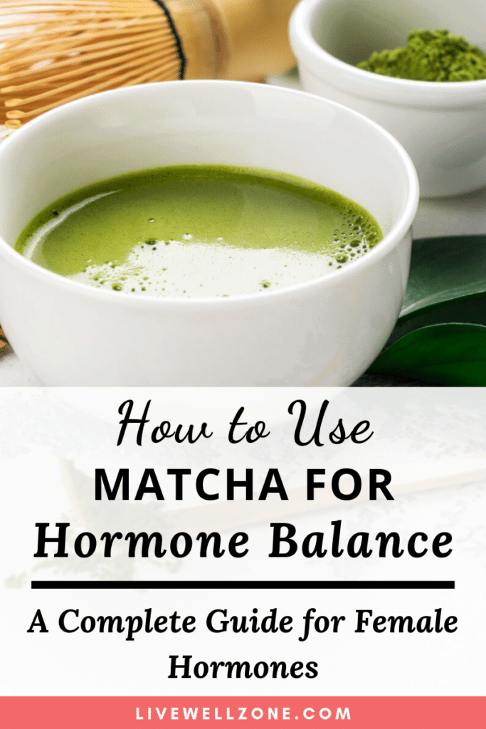 matcha for hormone balance tea