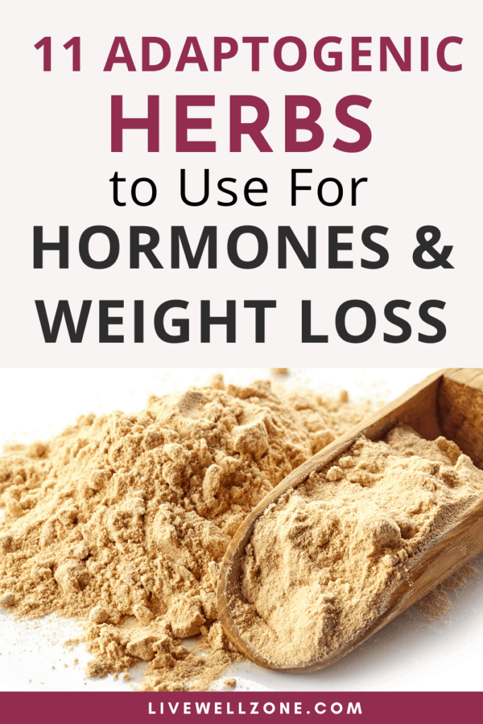 adaptogenic herbs for hormone balance and weight loss ground herb