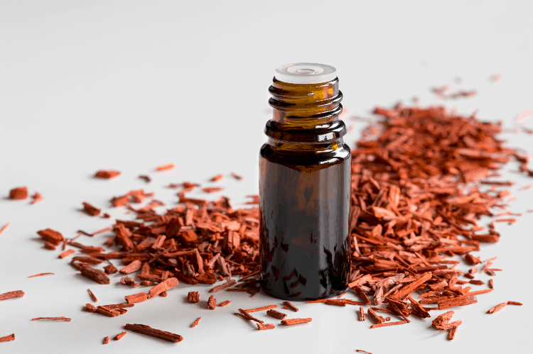 essential oils that help hot flashes sandalwood