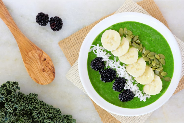 simple green smoothie bowl recipes