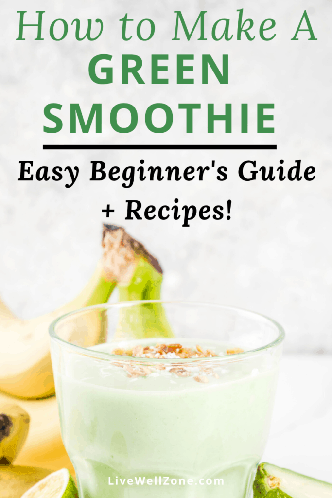 how to make a green smoothie banana