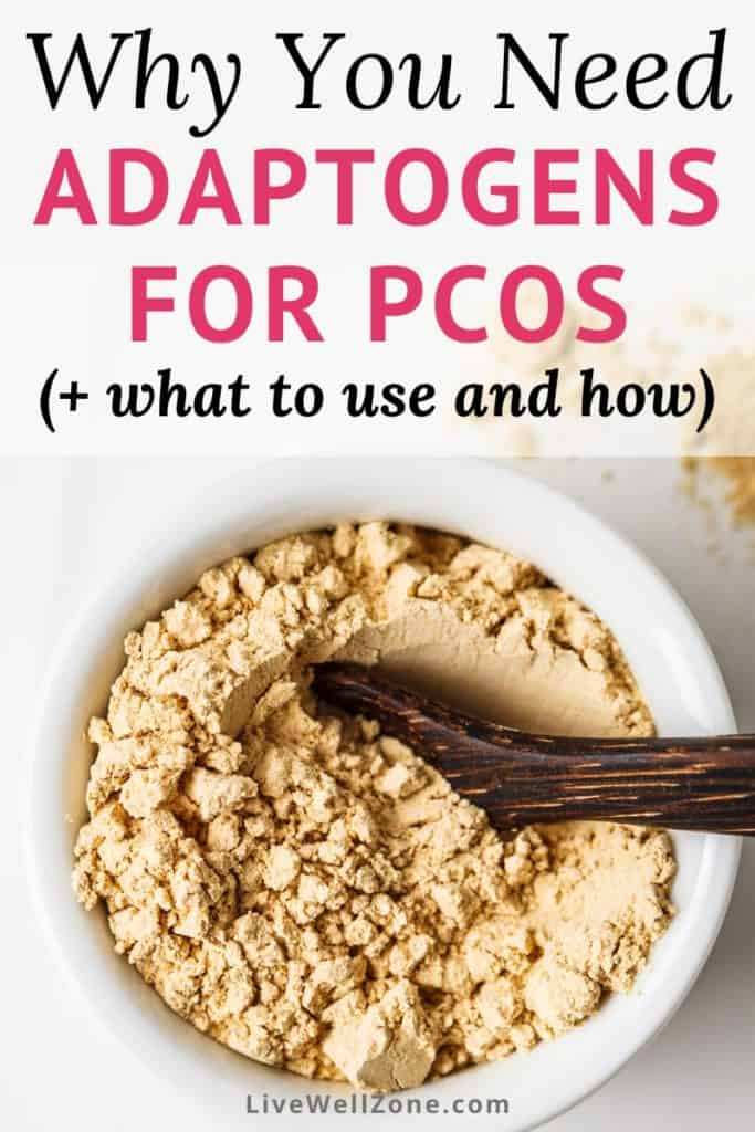 adaptogens for pcos bowl