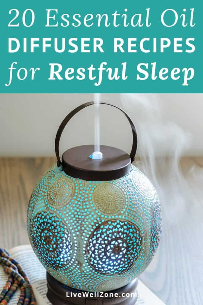 essential oil diffuser recipes for sleep blue