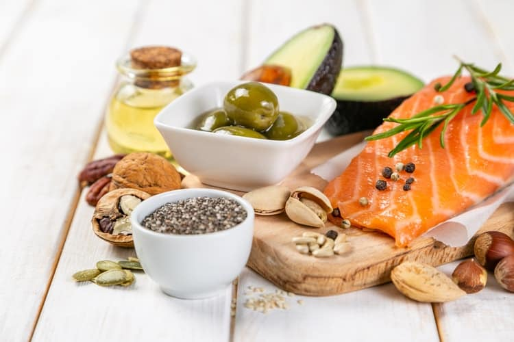 struggling to lose weight healthy fats