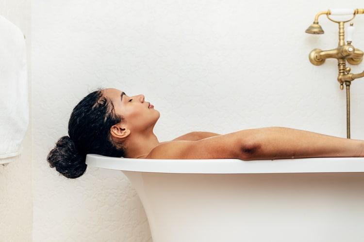 physical self care ideas detox bath