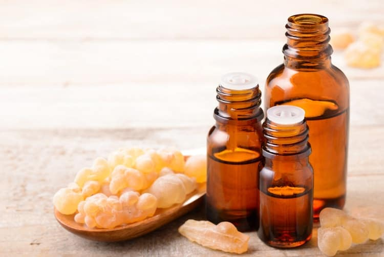 what essential oils should I diffuse for sleep frankincense