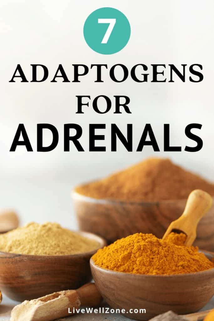 adaptogenic herbs for adrenal fatigue powders