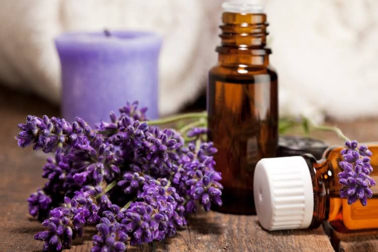 best essential oils for your period lavender