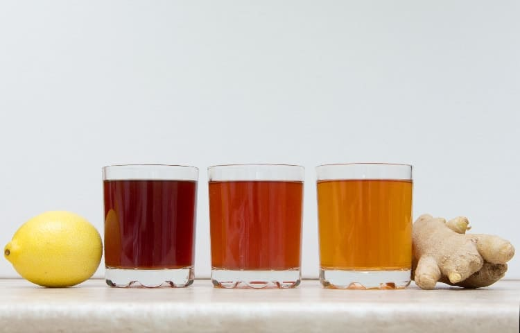 drinks to balance hormones kombucha