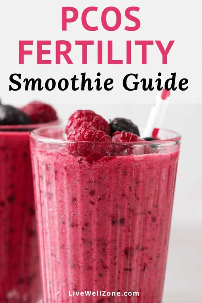 fertility smoothie for pcos guide