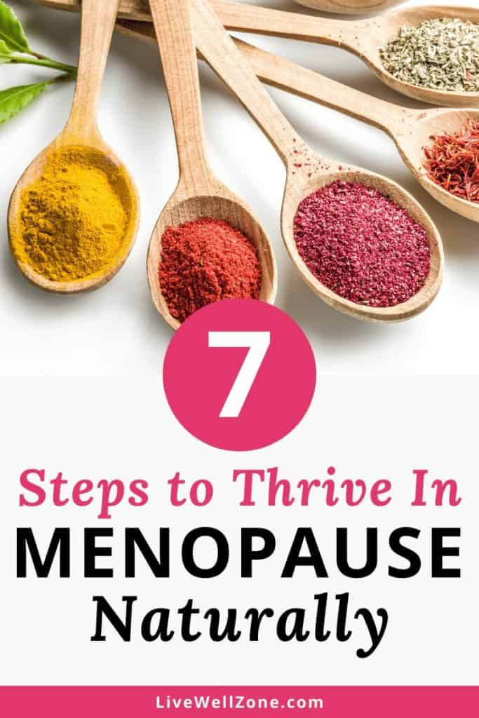 go through menopause naturally 7 steps