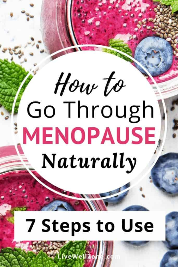 go through menopause naturally smoothies