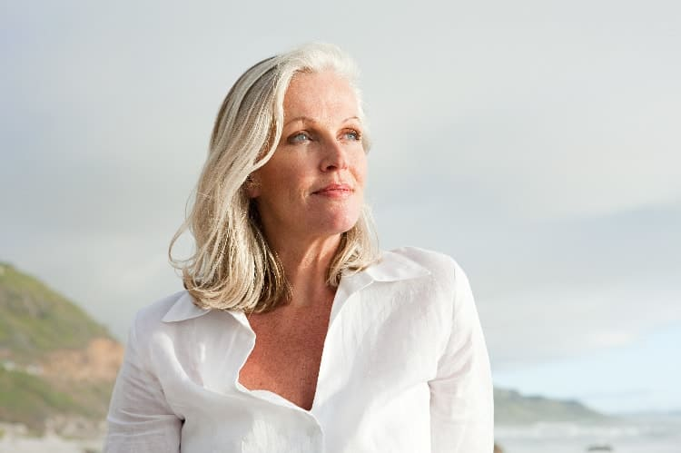 go through menopause naturally