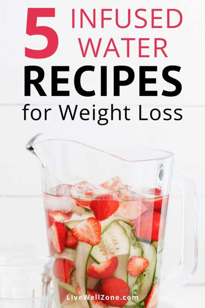 infused water recipes for weight loss strawberries cucumber