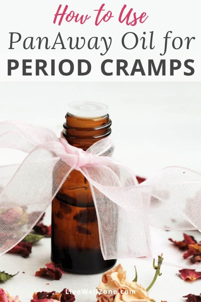 panaway oil for menstrual cramps how to use
