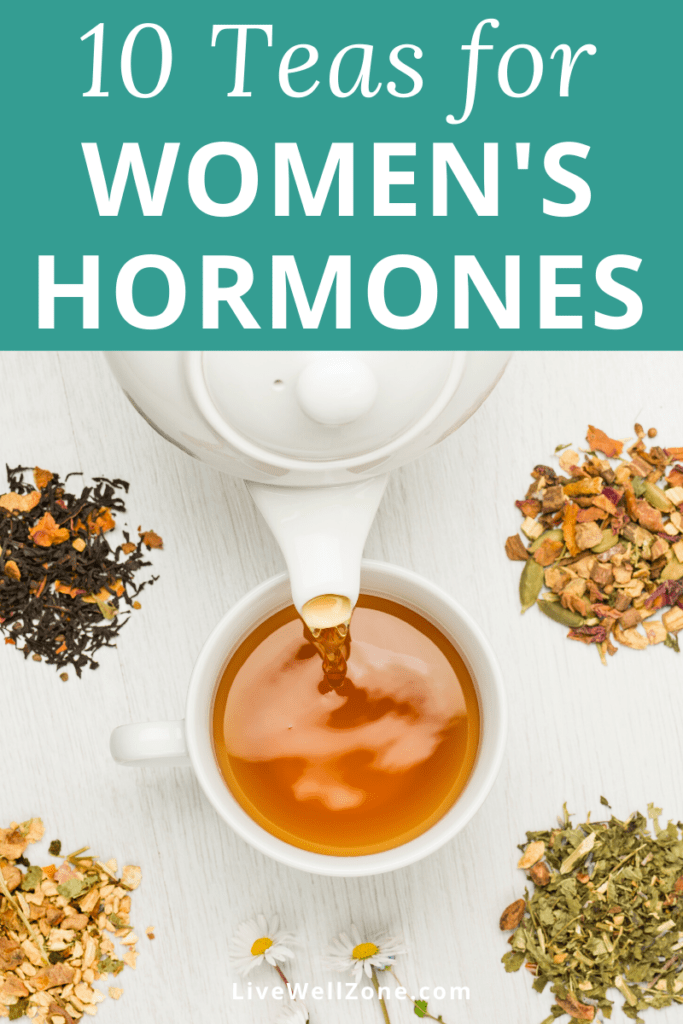 teas for balancing women's hormones and herbs