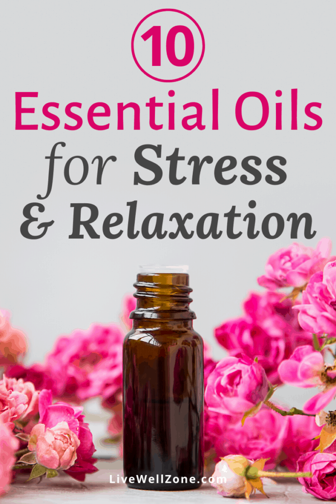 essential oils for stress relief rose oil pin
