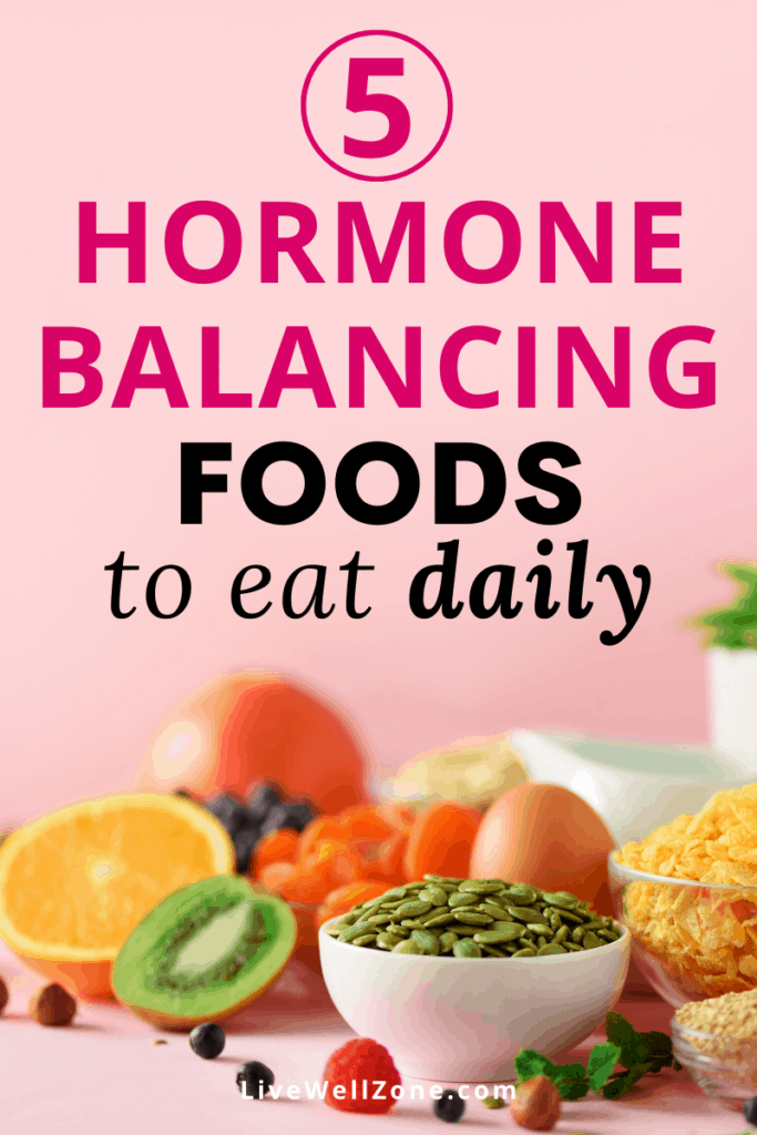 hormone balancing foods to eat pumpkin seeds and kiwi