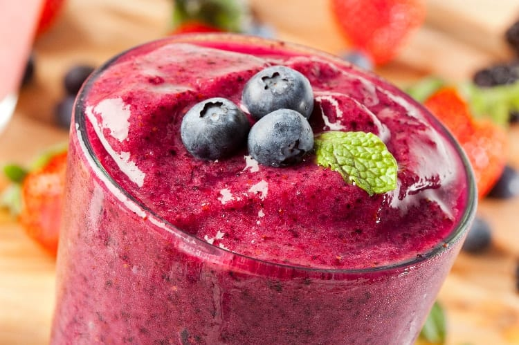 smoothies for low iron