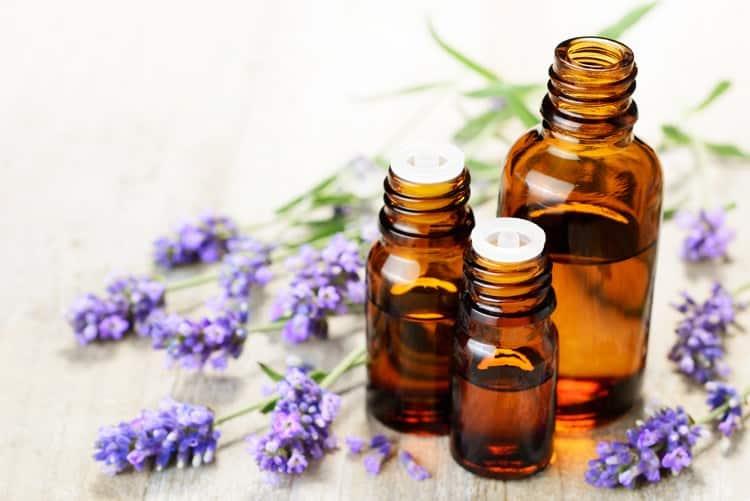 sore throat essential oils lavender