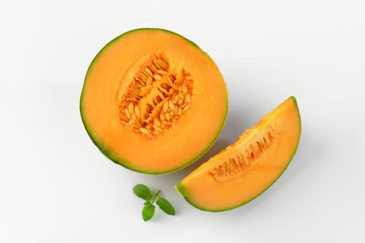what fruit helps with menstrual cramps cantaloupe