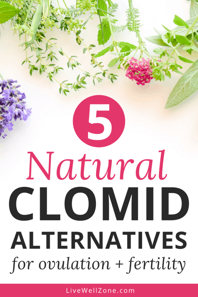 natural alternatives to clomid flowers