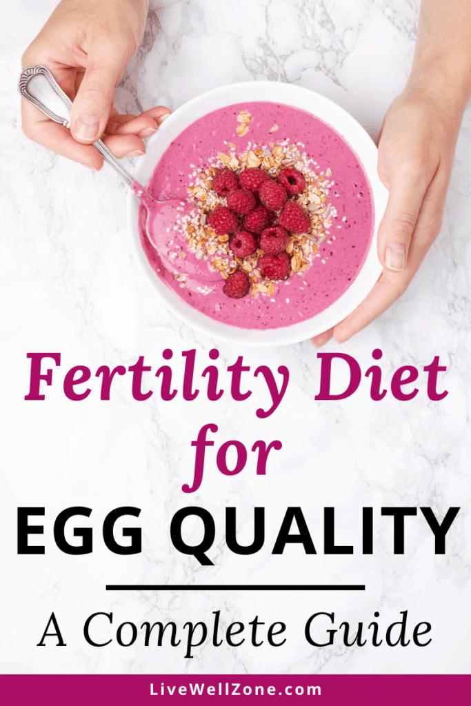 smoothie bowl for fertility