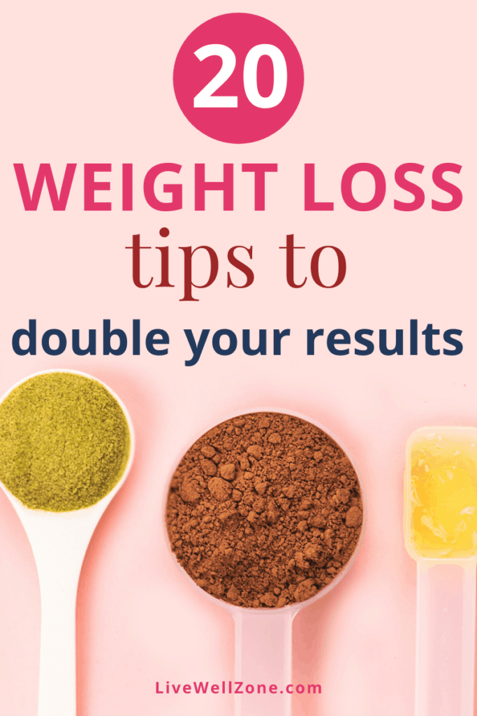 weight loss hacks with superfood powder in spoons