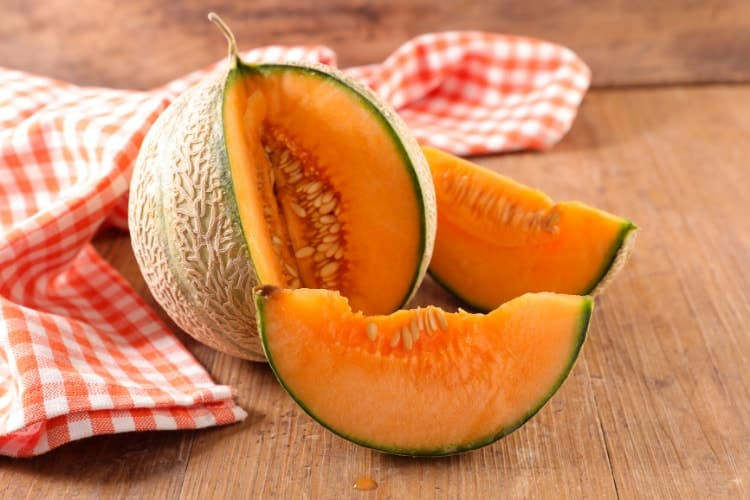 cantaloupe in food sources of inositol