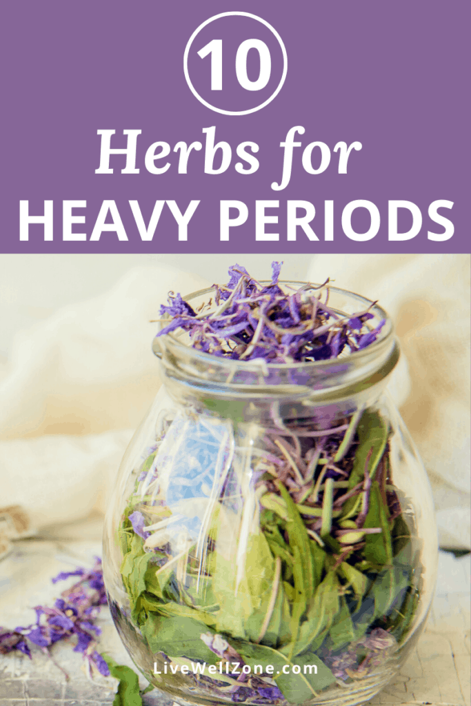 herbal remedies for heavy periods
