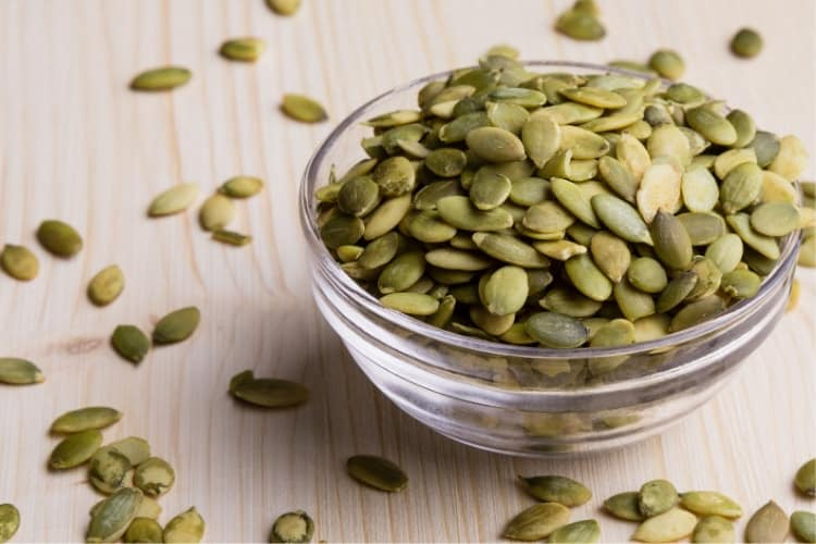 get better sleep with menstrual cramps zinc pumpkin seeds