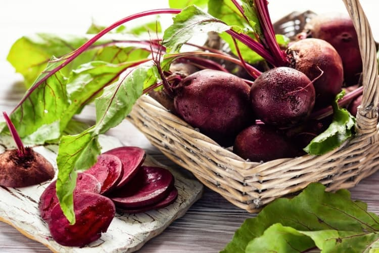 are beets rich in iron