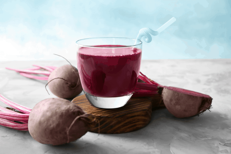 beet smoothie for low iron