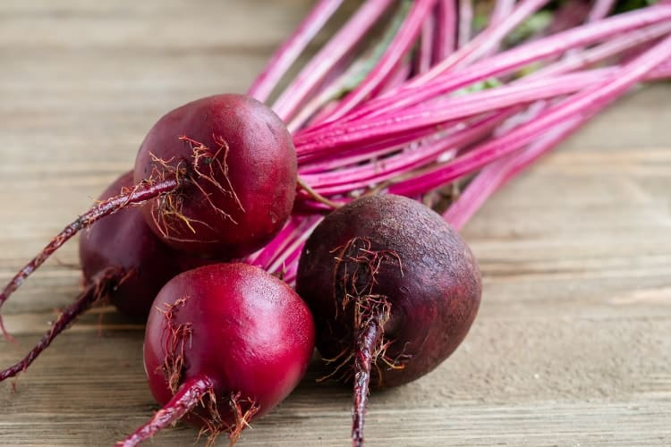 is beetroot good for low iron