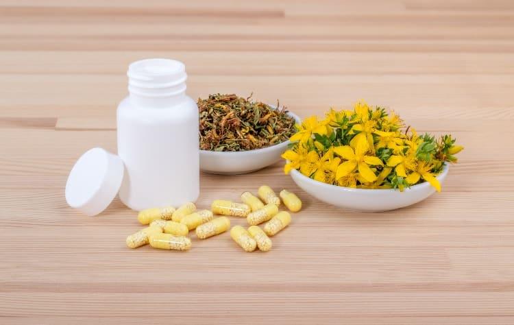 herbs that balance hormones st johns wort