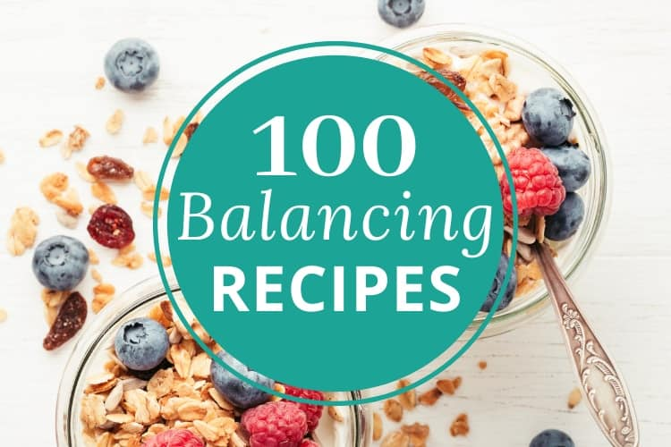 banner image for 100 hormone balancing recipes